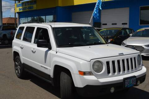 2012 Jeep Patriot for sale at Earnest Auto Sales in Roseburg OR