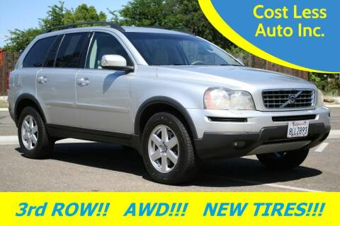 2007 Volvo XC90 for sale at Cost Less Auto Inc. in Rocklin CA
