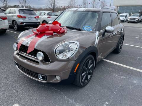 2012 MINI Cooper Countryman for sale at Charlotte Auto Group, Inc in Monroe NC