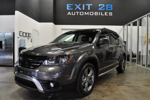 2017 Dodge Journey for sale at Exit 28 Auto Center LLC in Cornelius NC