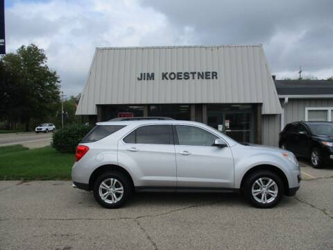 2014 Chevrolet Equinox for sale at JIM KOESTNER INC in Plainwell MI
