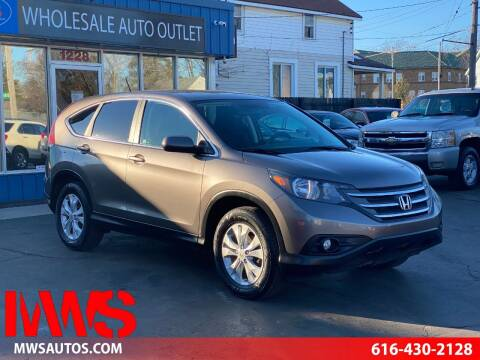 2012 Honda CR-V for sale at MWS Wholesale  Auto Outlet in Grand Rapids MI