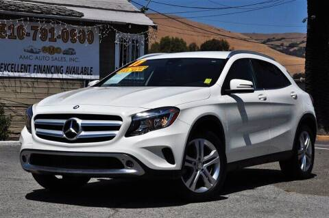 2017 Mercedes-Benz GLA for sale at AMC Auto Sales, Inc. in Fremont CA