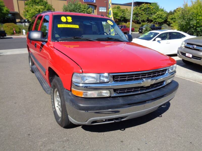 2003 Chevrolet Suburban for sale at NorCal Auto Mart in Vacaville CA