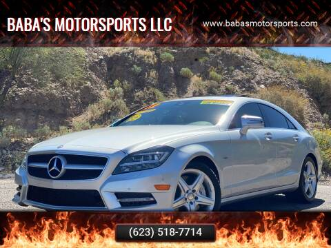2012 Mercedes-Benz CLS for sale at Baba's Motorsports, LLC in Phoenix AZ