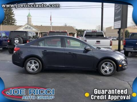 2015 Chevrolet Cruze for sale at Mr Intellectual Cars in Shelby Township MI