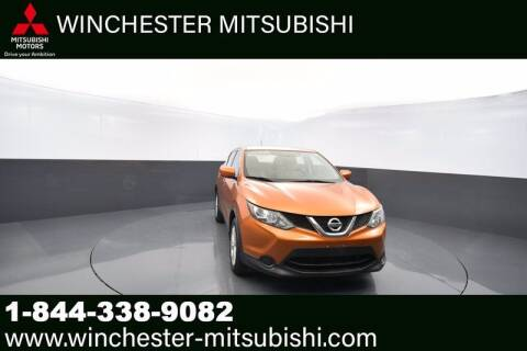 2017 Nissan Rogue Sport for sale at Winchester Mitsubishi in Winchester VA