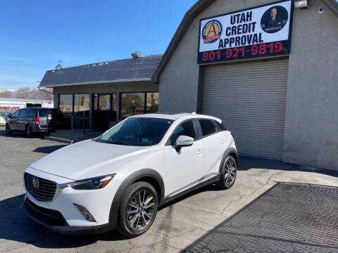 2016 Mazda CX-3 for sale at Utah Credit Approval Auto Sales in Murray UT