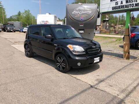 2010 Kia Soul for sale at Giguere Auto Wholesalers in Tilton NH