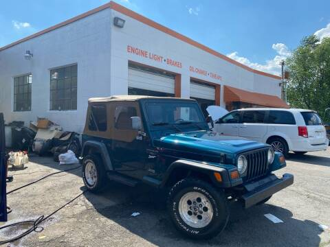 1997 Jeep Wrangler for sale at 4X4 Rides in Hagerstown MD