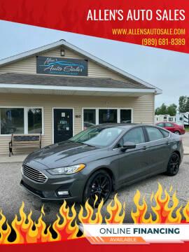 2019 Ford Fusion for sale at Allen's Auto Sales in Saint Louis MI