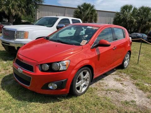 2013 Chevrolet Sonic for sale at Top Garage Commercial LLC in Ocoee FL