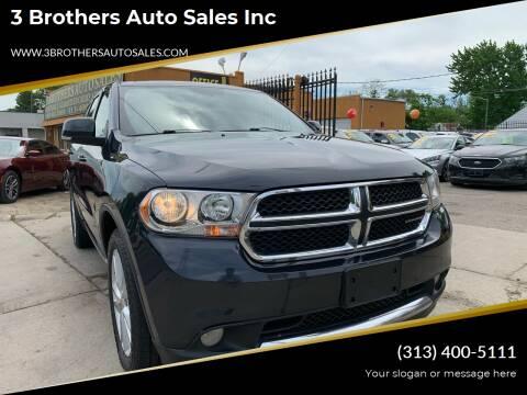 2012 Dodge Durango for sale at 3 Brothers Auto Sales Inc in Detroit MI
