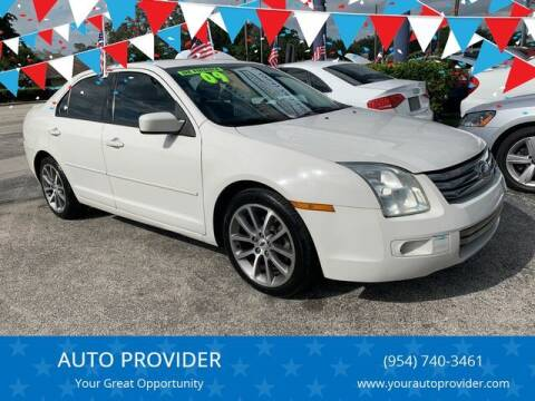 2009 Ford Fusion for sale at AUTO PROVIDER in Fort Lauderdale FL