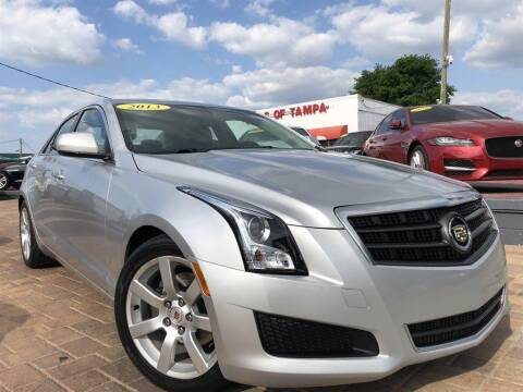2013 Cadillac ATS for sale at Cars of Tampa in Tampa FL