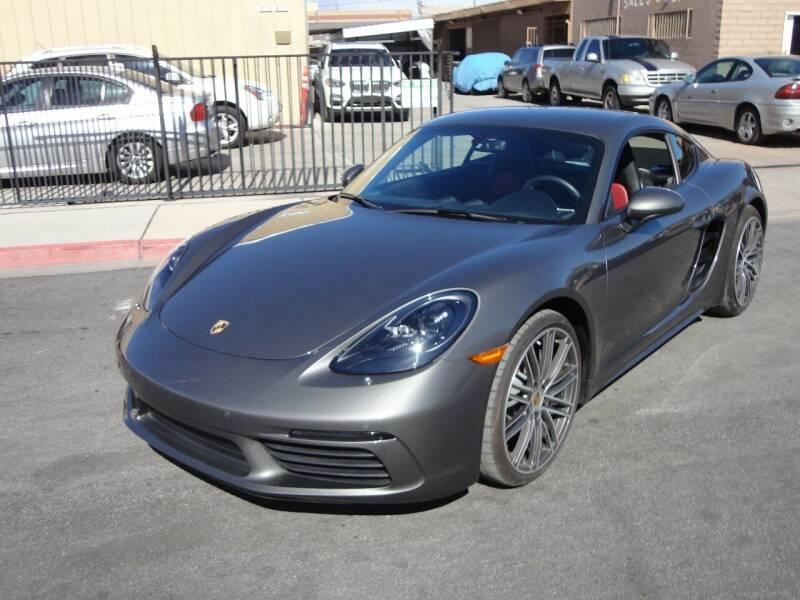 2018 Porsche 718 Cayman for sale at CONTRACT AUTOMOTIVE in Las Vegas NV