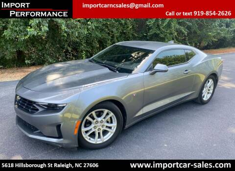 2020 Chevrolet Camaro for sale at Import Performance Sales in Raleigh NC