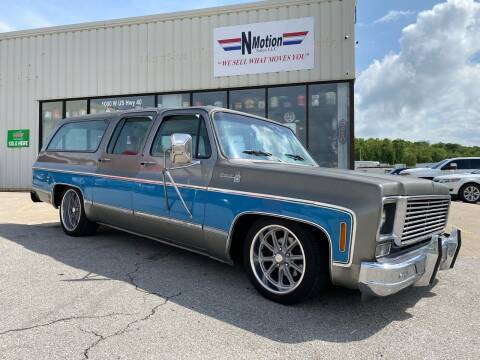 1977 Chevrolet Suburban for sale at N Motion Sales LLC in Odessa MO
