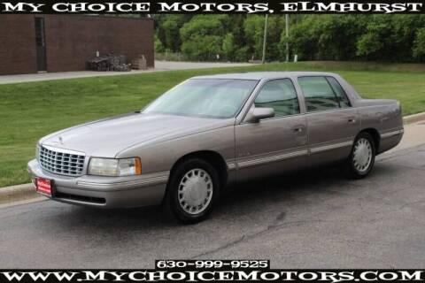 1998 Cadillac DeVille for sale at My Choice Motors Elmhurst in Elmhurst IL