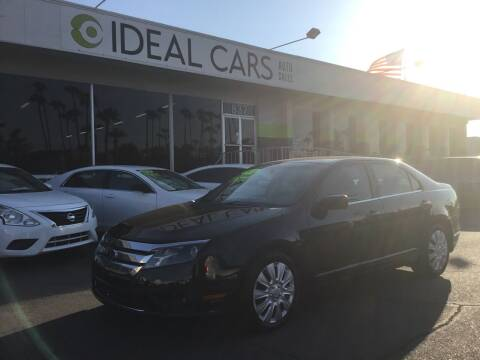2010 Ford Fusion for sale at Ideal Cars Apache Trail in Apache Junction AZ