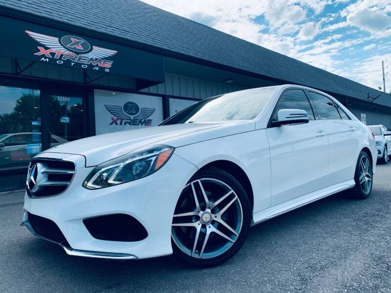 2016 Mercedes-Benz E-Class for sale at Xtreme Motors Inc. in Indianapolis IN