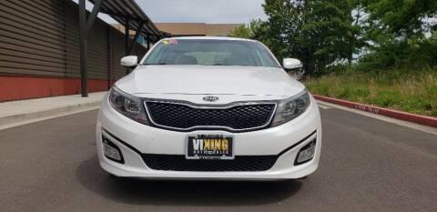 2014 Kia Optima for sale at VIking Auto Sales LLC in Salem OR