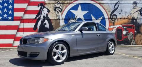 2009 BMW 1 Series for sale at G T Auto Group in Goodlettsville TN