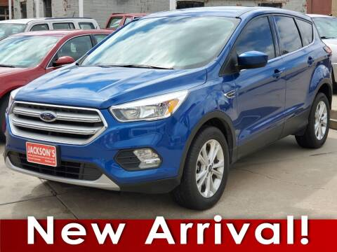 2019 Ford Escape for sale at Jacksons Car Corner Inc in Hastings NE