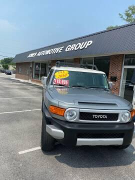 2010 Toyota FJ Cruiser for sale at Jones Automotive Group in Jacksonville NC