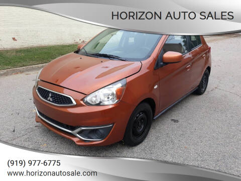 2017 Mitsubishi Mirage for sale at Horizon Auto Sales in Raleigh NC
