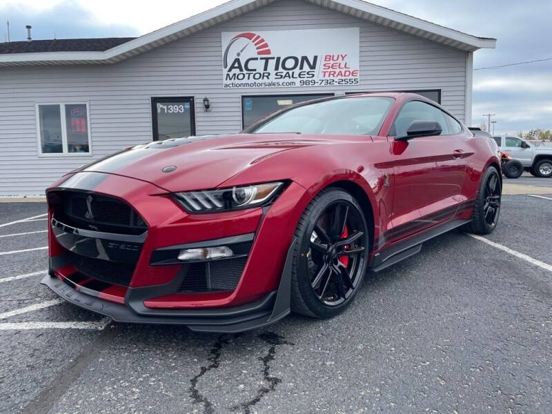 2020 Ford Mustang for sale at Action Motor Sales in Gaylord MI