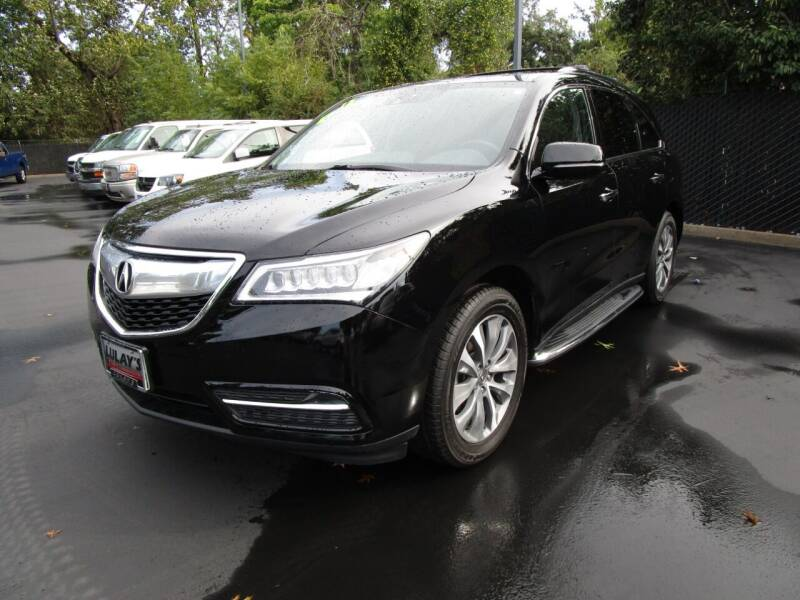 2015 Acura MDX for sale at LULAY'S CAR CONNECTION in Salem OR