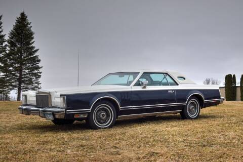1977 Lincoln Mark V for sale at Hooked On Classics in Watertown MN