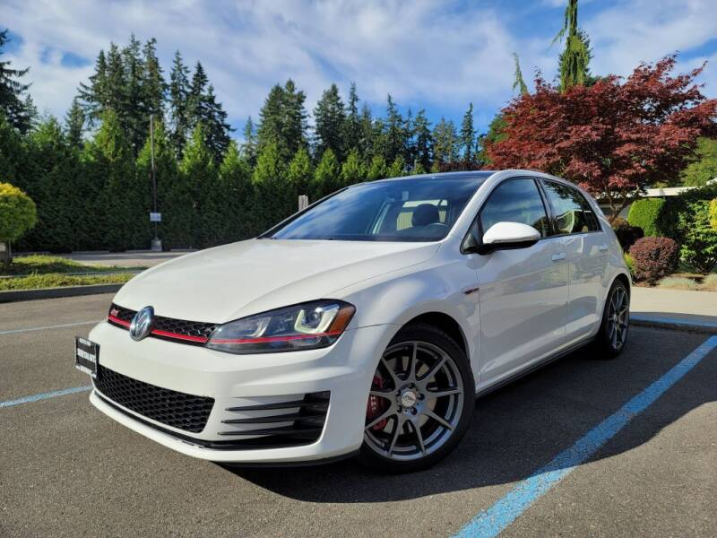 2016 Volkswagen Golf GTI for sale at Silver Star Auto in Lynnwood WA