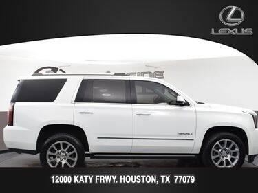 2018 GMC Yukon for sale at LEXUS in Houston TX