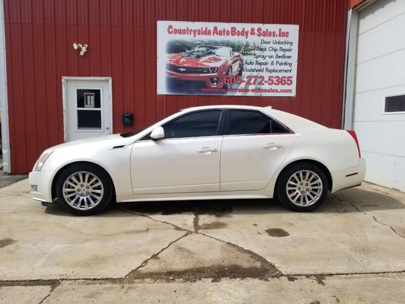 2011 Cadillac CTS for sale at Countryside Auto Body & Sales, Inc in Gary SD