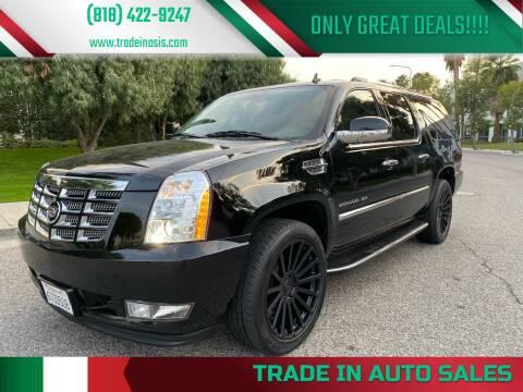 2012 Cadillac Escalade ESV for sale at Trade In Auto Sales in Van Nuys CA