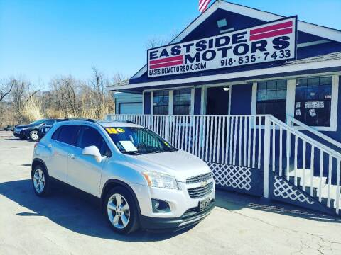 2015 Chevrolet Trax for sale at EASTSIDE MOTORS in Tulsa OK