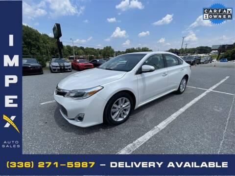 2015 Toyota Avalon for sale at Impex Auto Sales in Greensboro NC