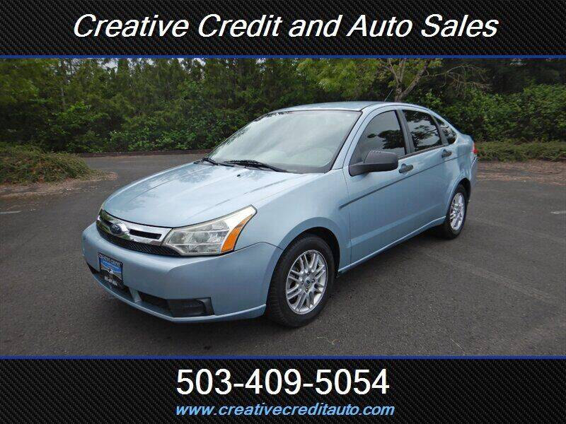 2009 Ford Focus for sale at Creative Credit & Auto Sales in Salem OR