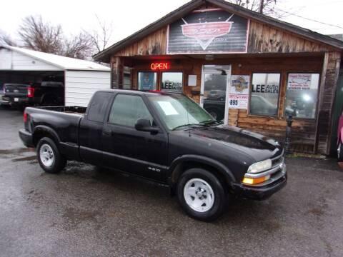 2000 Chevrolet S-10 for sale at LEE AUTO SALES in McAlester OK