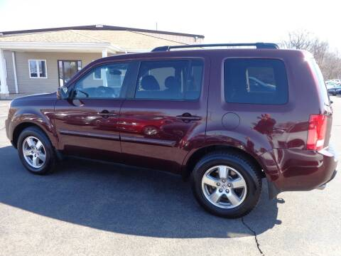 2011 Honda Pilot for sale at BETTER BUYS AUTO INC in East Windsor CT