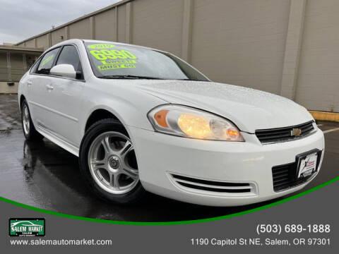 2010 Chevrolet Impala for sale at Salem Auto Market in Salem OR