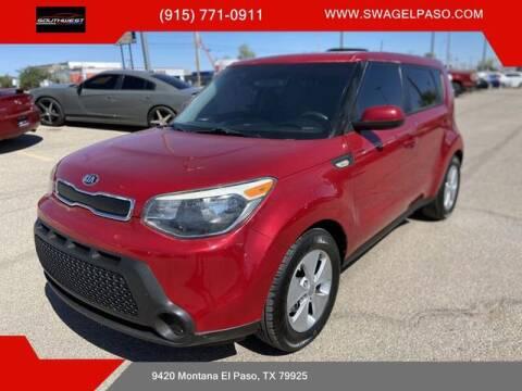 2014 Kia Soul for sale at SOUTHWEST AUTO GROUP-EL PASO in El Paso TX