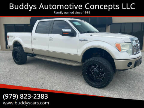 2010 Ford F-150 for sale at Buddys Automotive Concepts LLC in Bryan TX