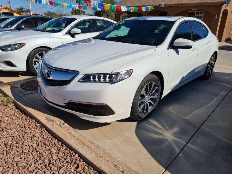 2015 Acura TLX for sale at A AND A AUTO SALES in Gadsden AZ