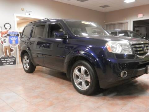 2013 Honda Pilot for sale at ABSOLUTE AUTO CENTER in Berlin CT