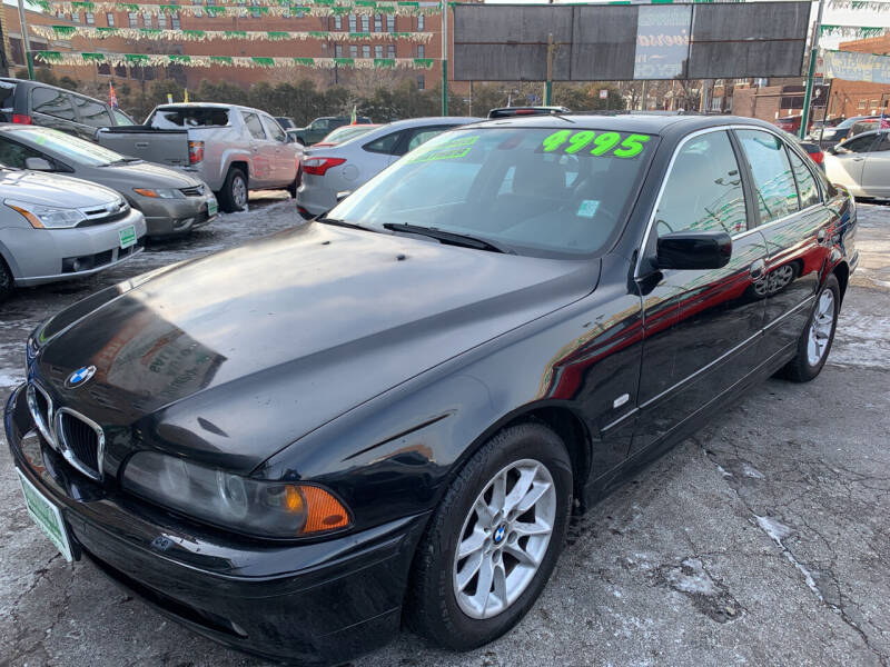 2003 BMW 5 Series for sale at Barnes Auto Group in Chicago IL