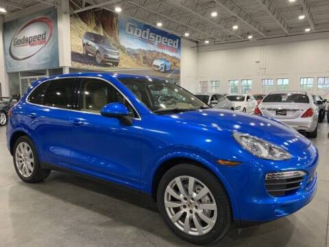2014 Porsche Cayenne for sale at Godspeed Motors in Charlotte NC