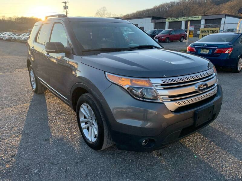 2013 Ford Explorer for sale at Ron Motor Inc. in Wantage NJ
